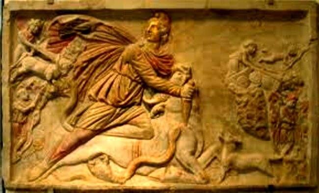 Mitras, adică Ahura Mazda, adică Anu, preluând şi una dintre gloriile lui Gilgamesh