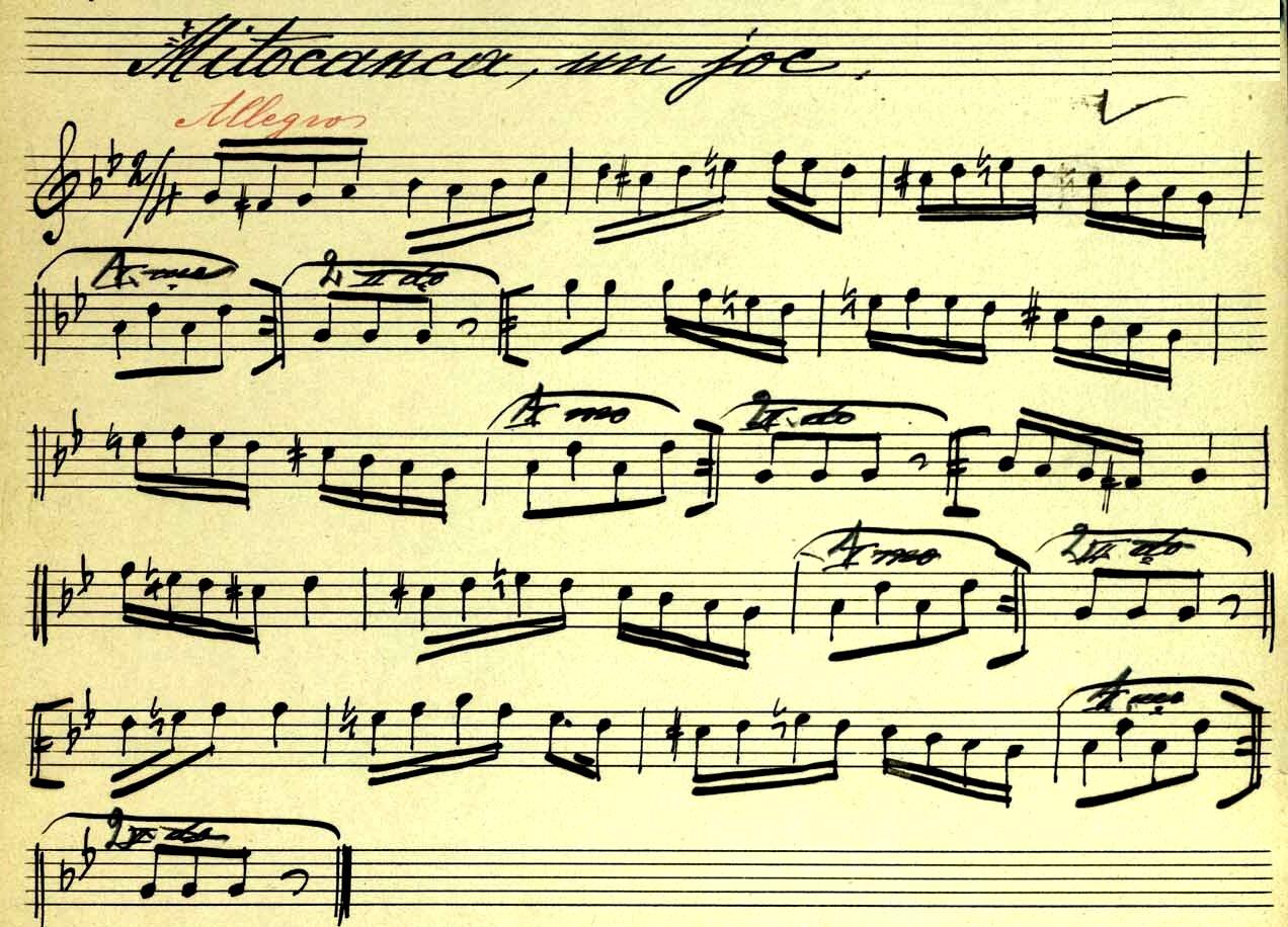 Cântecul de joc, imn pentru Răzvan Mitoceanu