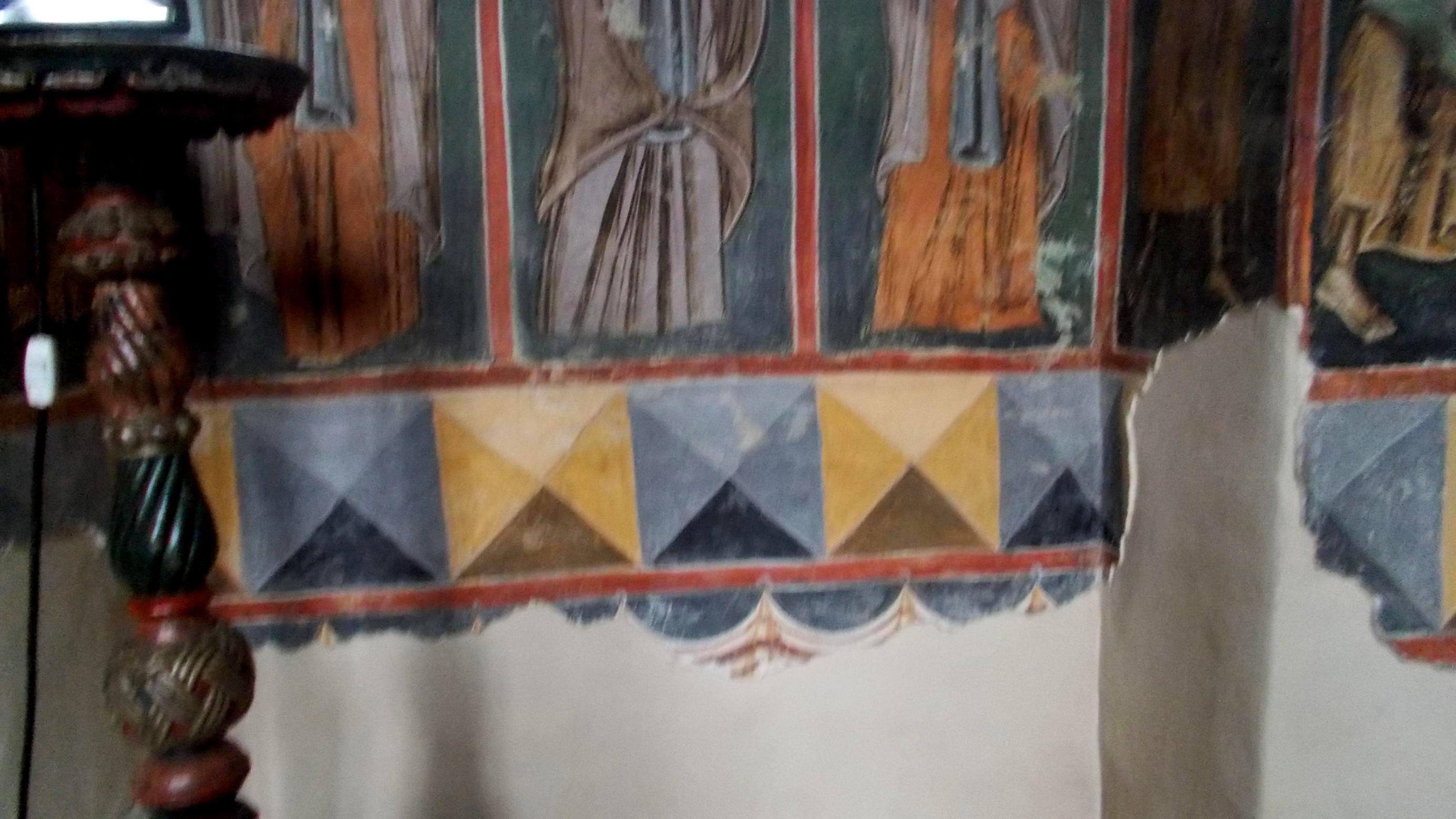 Detaliu cu Muntele Sfânt ca simbol cosmic al Pământului