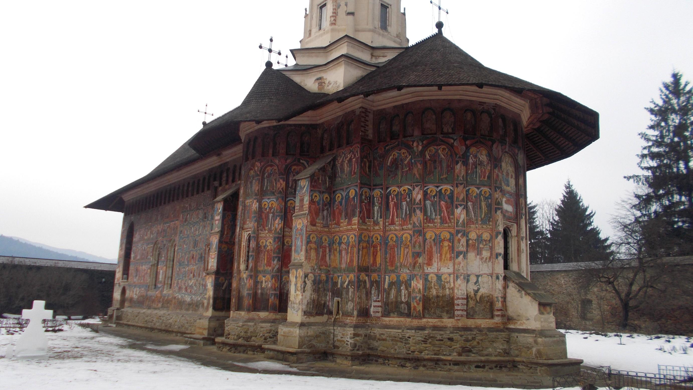 Biserica Mănăstirii Moldoviţa