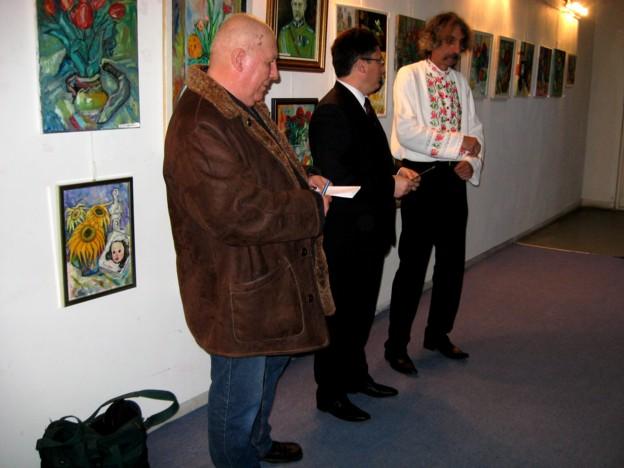 Cu Gervazen Longher şi cu Iulian Dziubinski, rememorând crâmpeie din istoria Poloniei