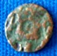 Moneda lui Kutlu Buga, bătută la Şehr al-cedid, adică la Orheiul Vechi