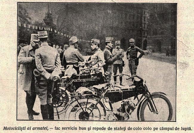 Motocicliștii - Cosânzeana din 13 septembrie 1914