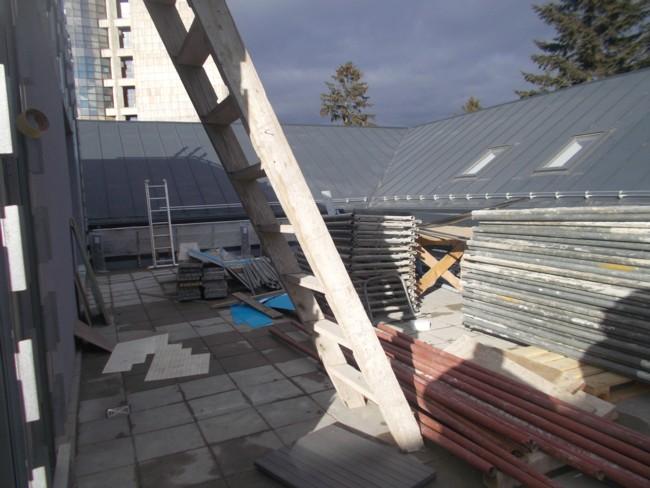Terasa de pe acoperiş