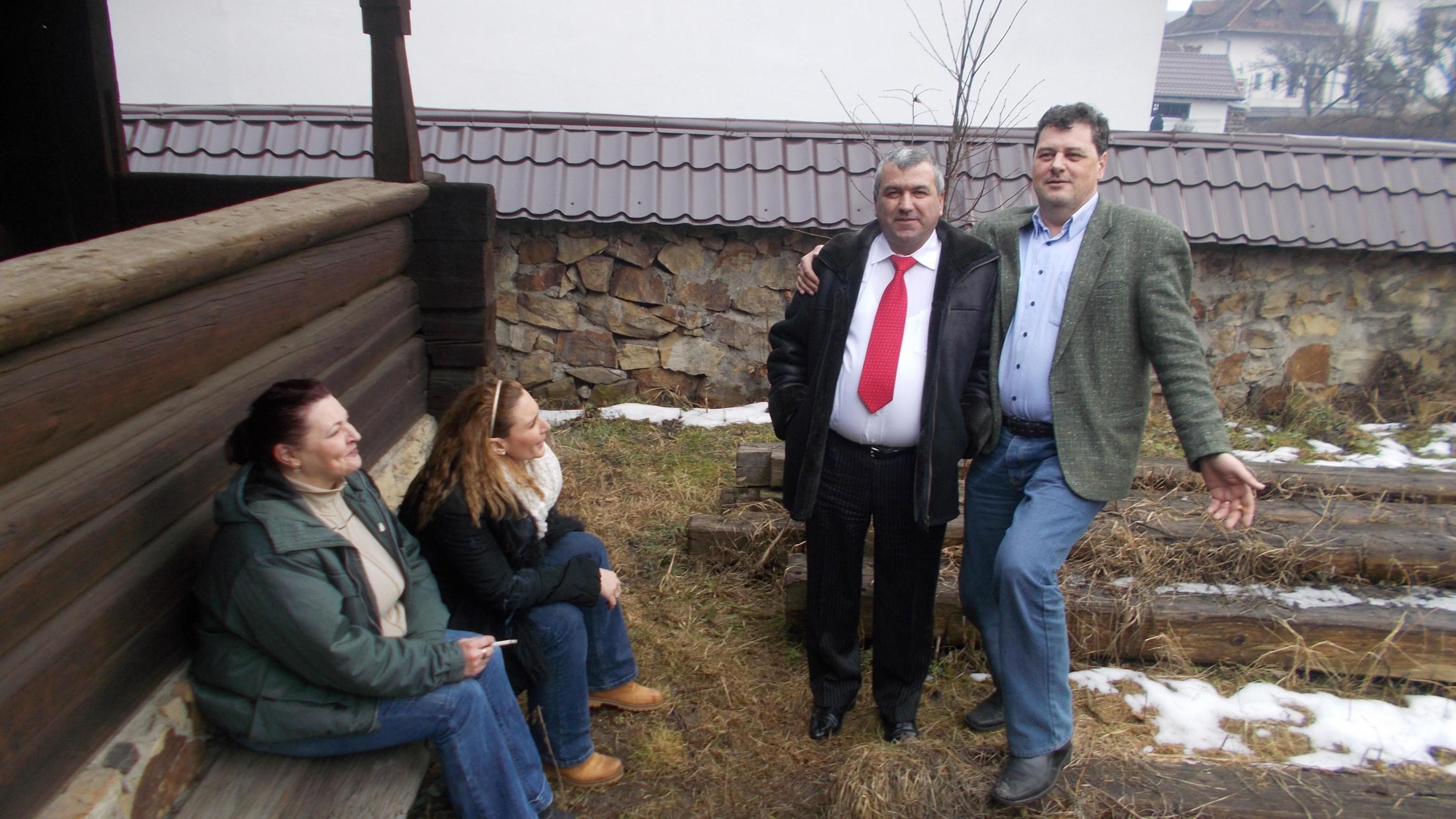 Corina Scântei, Oana Sârbu-Botezat, Cornel Boicu şi Dan Lungu