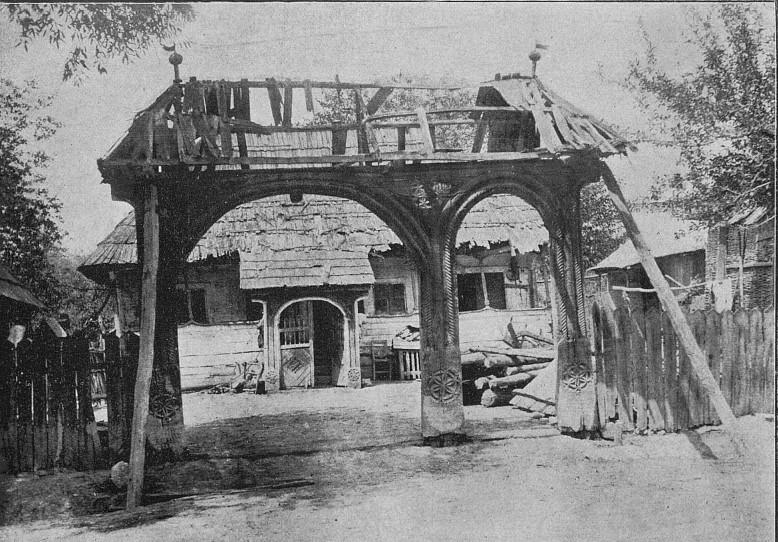 Casa lui Antonie Mogoş din Gorj