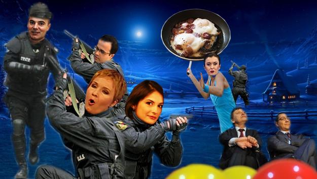 """Sorina Matei, de la """"România TV"""": Nea deputat Ghiţăăă!... Ai spus să-i dau cu tigaia în cap porcului ăluia... Dar la care dintre ei?"""