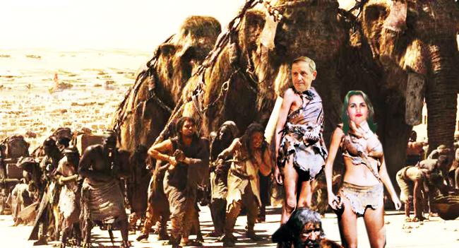 Managerul Varvaroi: Lenuţo, mie îmi angajezi tribul, nu pe Gânditorul din Hamangia!...