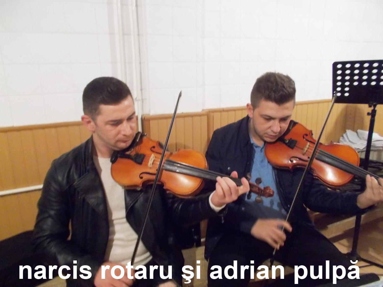 Narcis Rotaru şi Adrian Pulpă