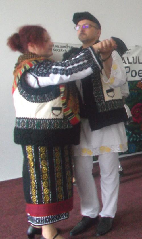 Soţii Ţăran, una dintre perechile ceremoniale ale Corlatei