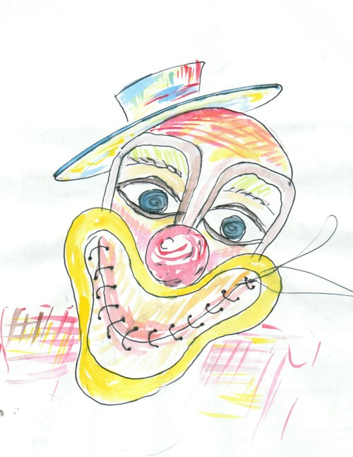 Nostalgia zambetelor clown  b