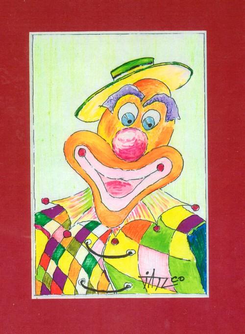 Nostalgia zambetelor clown  e