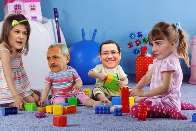 Rovana Plumb: Aşa, copii, construiţi temeinic viitorul României!