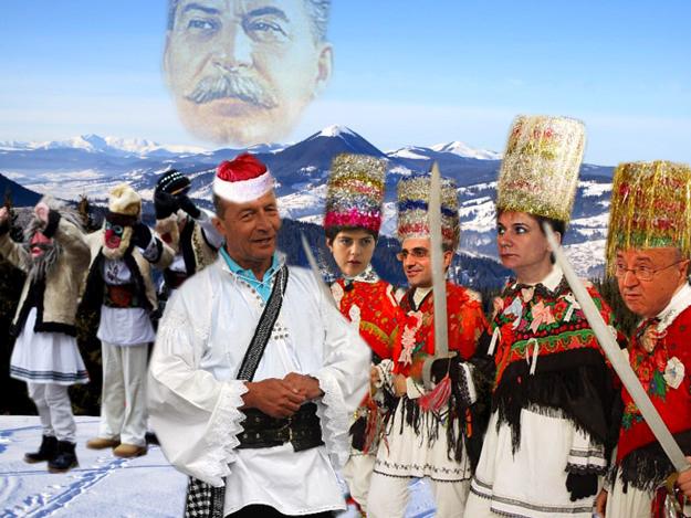 Traian Băsescu: Şi doar ţi-am spus, Codruţo, să nu-l mai laşi pe Papici să-şi scoată masca, în spatele meu! Poporul, draga mea, crede în măşti, nu în oameni!