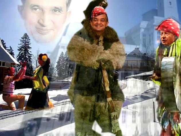 Traian Băsescu: Joacă, joacă, Bocule, că ţi-oi da cât Cluj mai e şi o cană de cafe!...