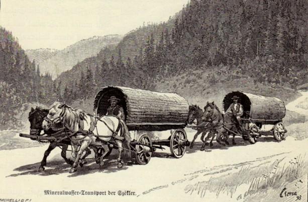 Transportul apei minerale