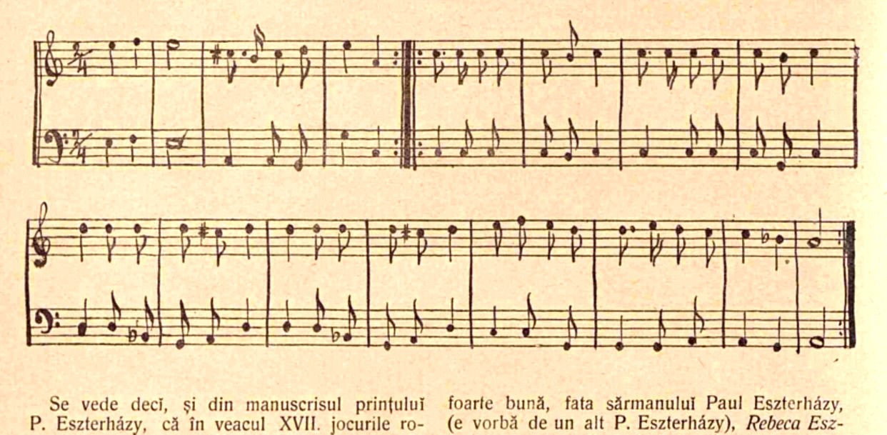 Olach Tanz de Eszterhazy LUCEAFARUL nr 22 1903 p 370