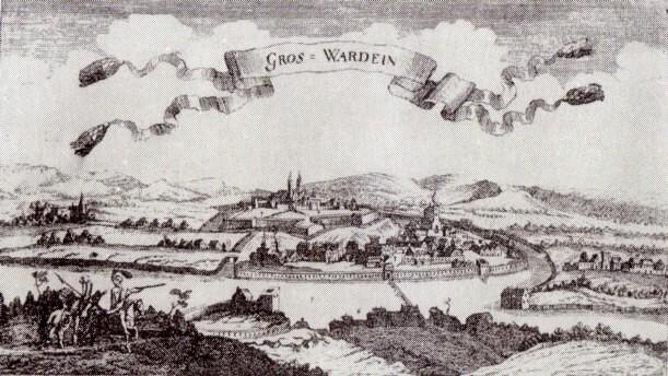 Oradea, la începutul secolului al XVII-lea