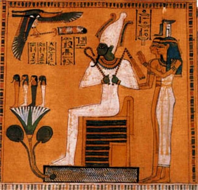 Osiris şi Iisis (Soarele şi Luna)