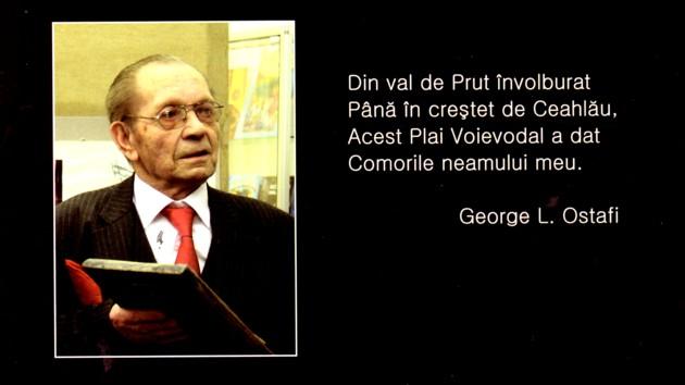 Omagiu bolşevismului, cu propagandistul George L. Ostafi neo-proletcultist