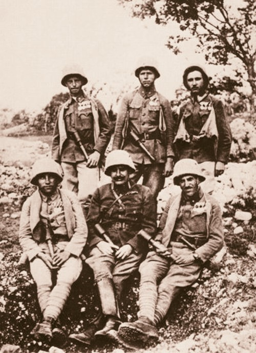 Ostaşi austrieci, în Bucovina