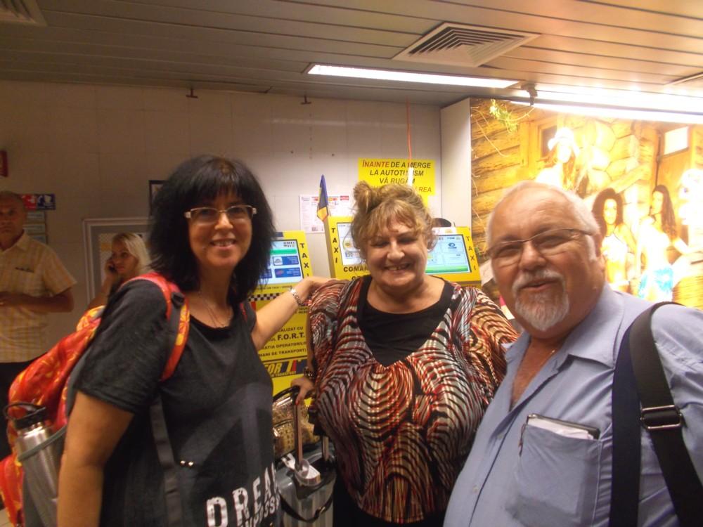 La Otopeni, Poeţii Aviva Golan, Lea Taran şi Menachem Mordecai Falek