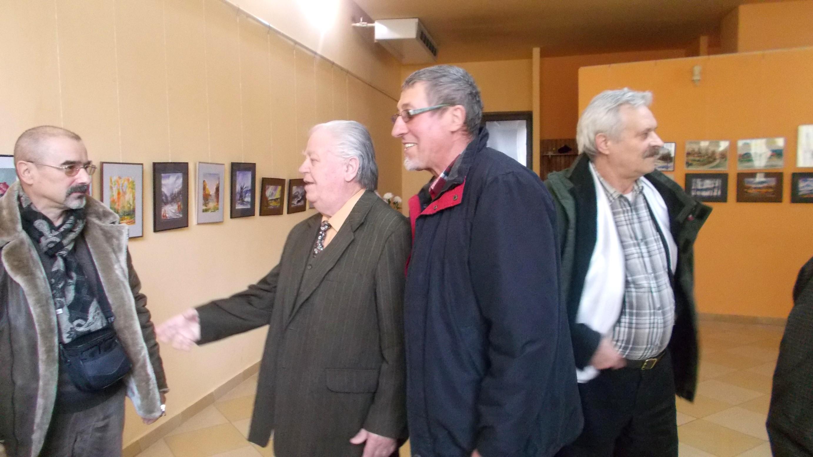Tiberiu Cosovan, Emil Ianuş, Toader Ignătescu şi Vasile Angel Siminiuc