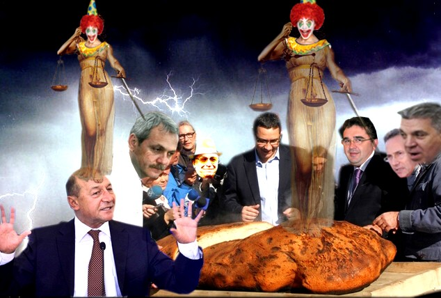 """Victor Ponta: """"Coabitarea funcţionează foarte bine: eu mă ocup de pâine, preşedintele, de circ, deci toată ţara va fi mulţumită"""""""