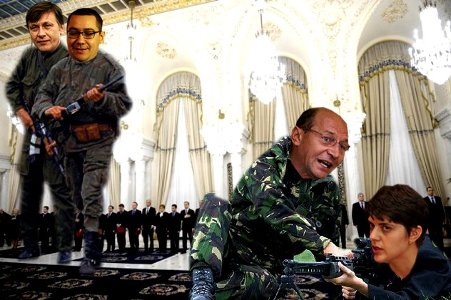 Traian Băsescu: Întâi îi iei în vizorul DNA, Codruţo, ocheşti şi-abia după aia tragi!...