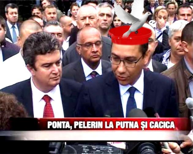 Victor Ponta: Am impresia că iar mi-a scăpat un porumbel!