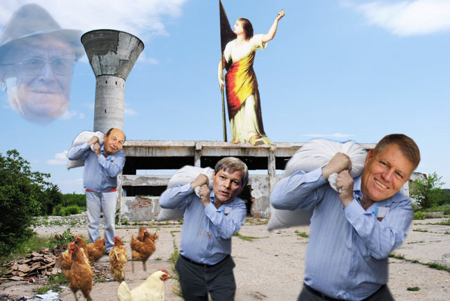 Cioloş: Şefu', dacă nici măcar plânsul nu i-a mai rămas, nu ar trebui să o dăm unui guvern politic?
