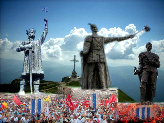Mulţimile de militanţi roşii, galbeni şi portocalii: Ierarhizarea prezentului nou poate începe decât cu ierarhizarea trecutului!...