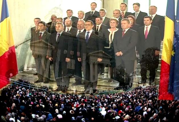 Victor Ponta: Guvernul meu se sprijină pe popor...