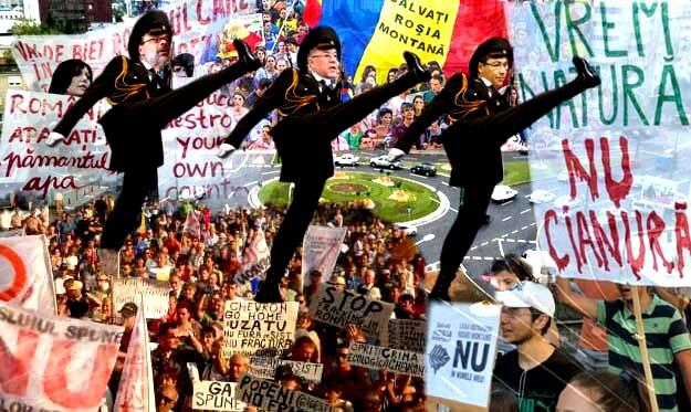 Victor Ponta: În stradă au ieşit tot felul de extremişti...