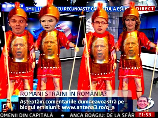 Dan Voiculescu: Legiuni, să murim cu Băsescornilos de gât!