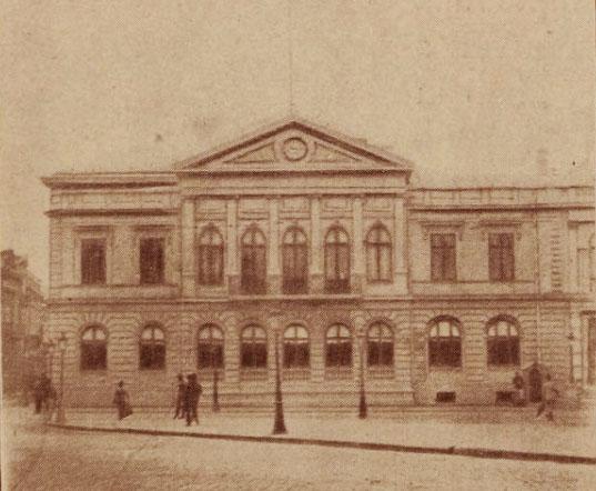Palatul Regal, înainte de restaurare