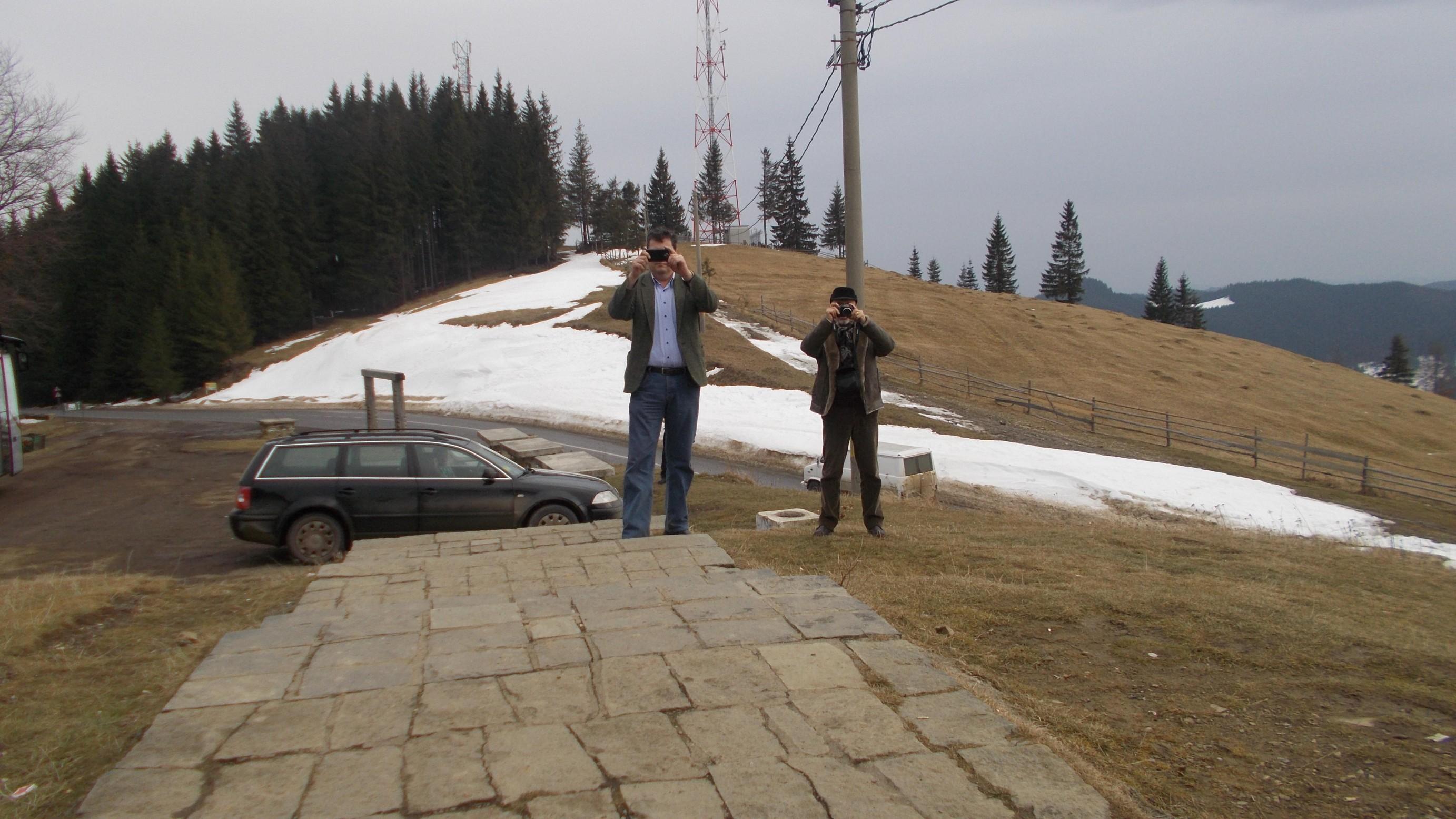 Dan Lungu şi Tiberiu Cosovan