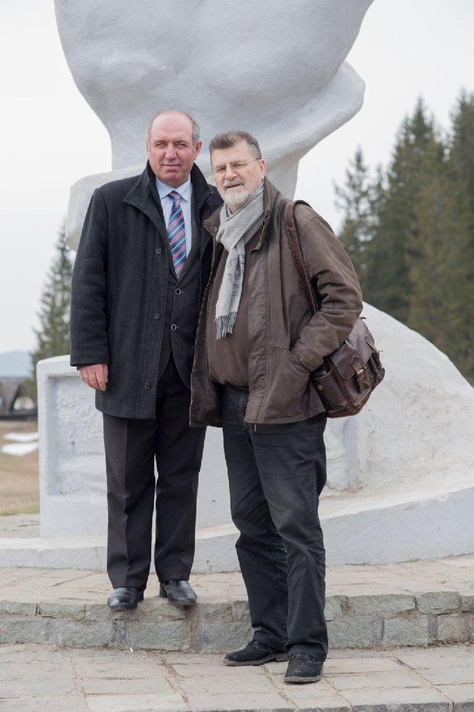 Ionică Băiţan, liderul nostru în cea mai frumoasă zi, şi PIM - foto Gabriel Sandu