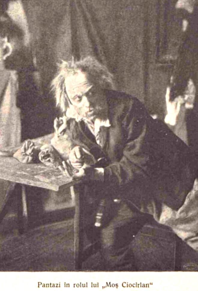 Pantazi Grigore actor regizor LUCEAFARUL n 13 1905 p 272