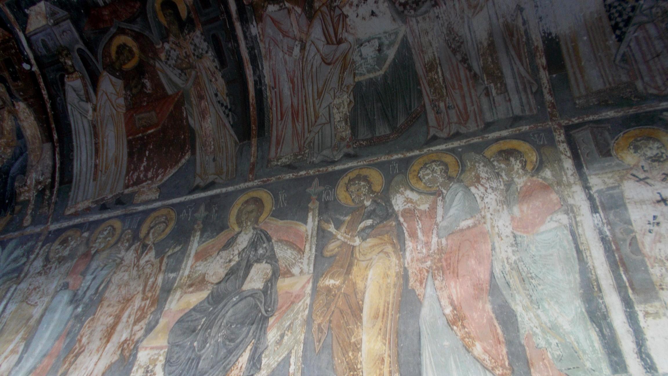 Pictura din holul bisericii din Părhăuţi