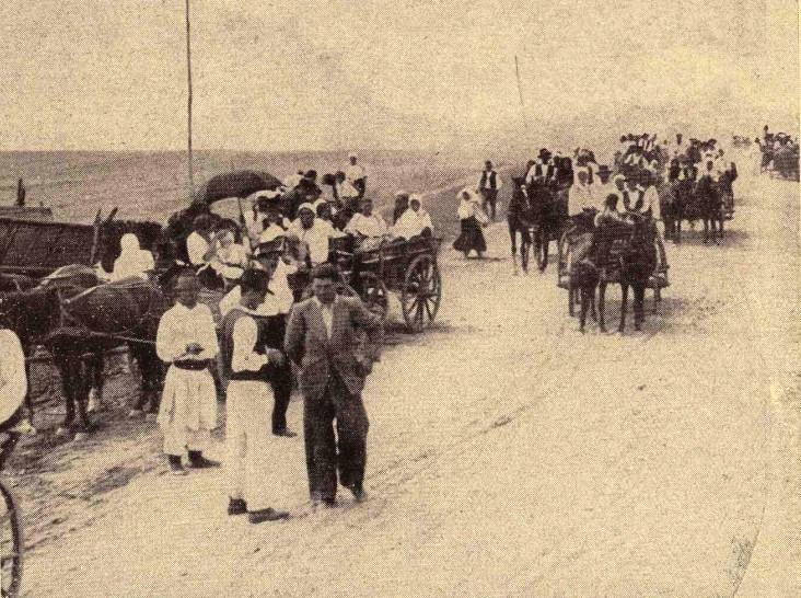 Pelerini, pe drumul spre Maglavit