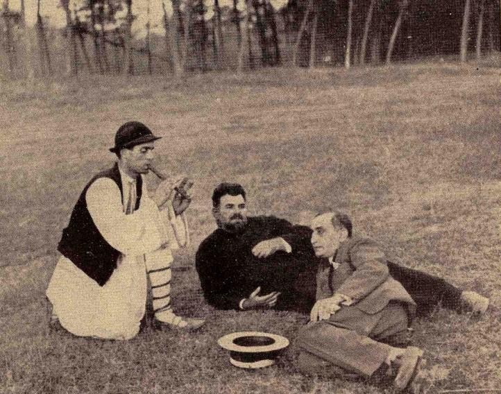 Sfântul Petrache Lupu, preotul Bobină şi scriitorul Nicolae Ţic