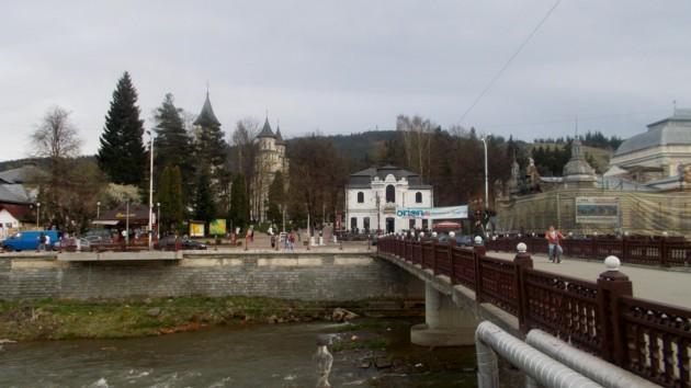 Podul de peste râul Dorna