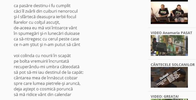 Poezia Mavoi intoarce vant 2