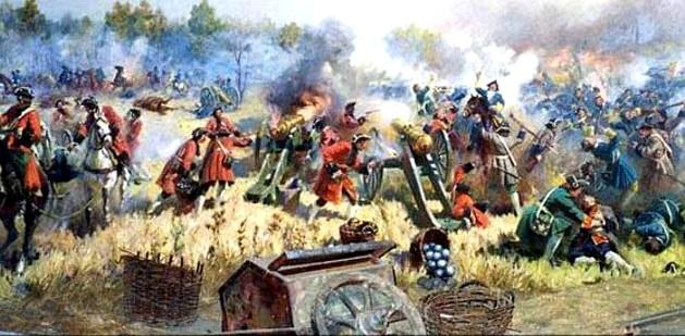 Cazaci, în bătălie