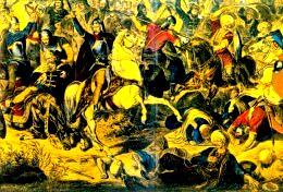 Bătălie ruso-turcă, pe teritoriul Moldovei