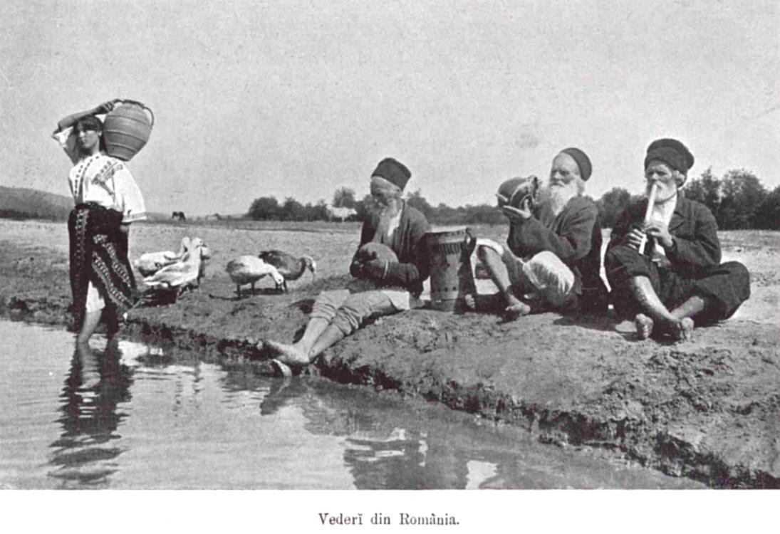 Port din Romania LUCEAFARUL n 2 3 1907 p 44