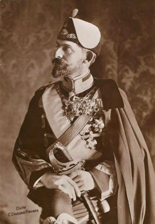 Portraits de Ferdinand I roi de Roumanie