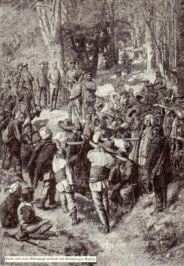 Întâlnirea tragicului Prinţ de Coroană austriac, Rudolf, cu etniile bucovinene şi ardeleneşti, în Pasul Prislop