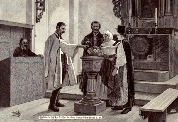 Căsătorie, la saşii reformaţi